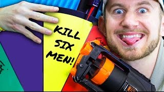 NERF Hangman Roulette Challenge! [Ep 4]