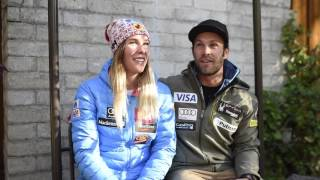 The skiing power couple : Marie-Michèle Gagnon & Travis Ganong