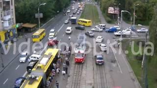 Полицейские устроили масштабное ДТП в Киеве