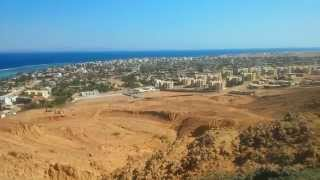 preview picture of video 'ДАХАБ Панорама города / DAHAB Panorama view'