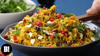 Quick & Easy Moroccan Couscous (Vegan)