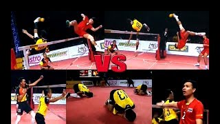 Sepak Takraw - Malaysia shocked the world of Sepak Takraw VS Thailand ! Finals Match ! 2015