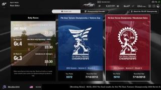 Gran Turismo Sport FIA Season 2018 Season 2 Round 4