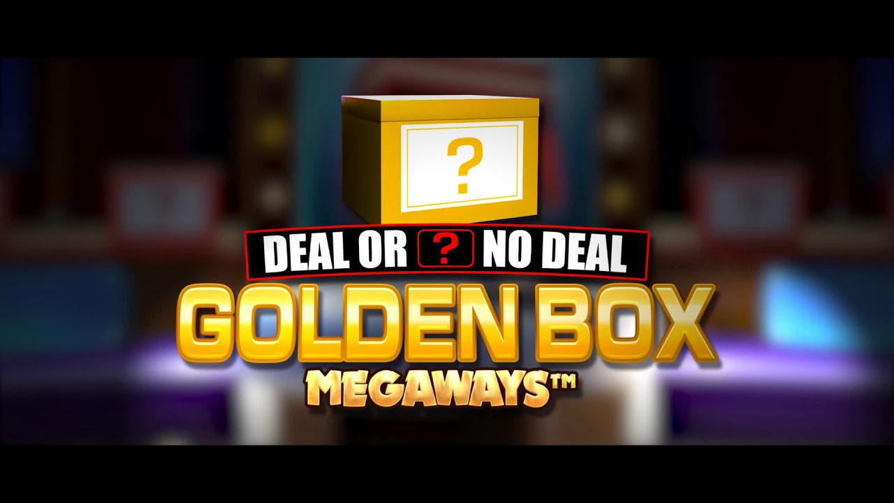 Deal or No Deal Megaways Golden Box