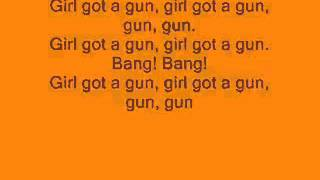 Tokio Hotel -  Girl Got A Gun Lyrics