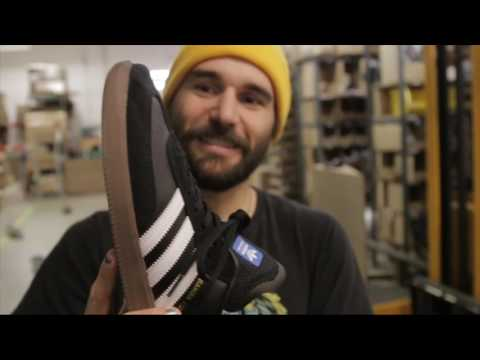 Adidas Samba ADV: 600 Skateboard Trick Wear Test Mp3