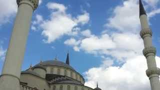 preview picture of video 'Kocatepe Mosque, the largest mosque in Ankara'