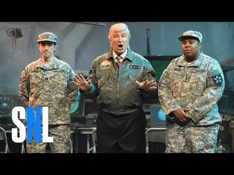 Alien Attack Cold Open - SNL