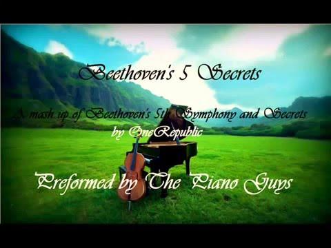 Beethovens 5 Secrets Onerepublic The Piano Guys