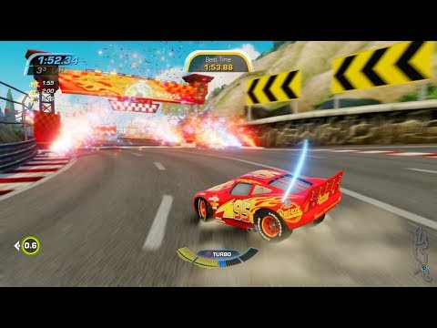 Cars 3: Driven To Win - Lightning McQueen - Best Lap Challenge #19 [1080 FullHD] - Disney Pixar Cars