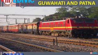 Take Supreme and Hi-tech Train Ambulance Service in Guwahati and Patna by M