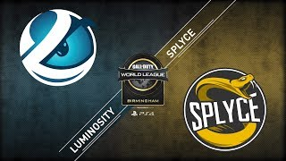 Luminosity vs Splyce | CWL Birmingham Open | Championship Sunday