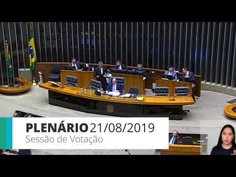 Plenário - Sessão de votação - 21/08/19