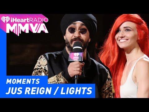 Jus Reign and Lights Introduce Arkells | 2017 iHeartRadio MMVAs