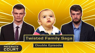 Twisted Family Saga: Two Cousins Fight For Love And Paternity (Double Episode)   Paternity Court
