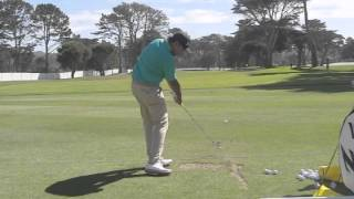 Anirban Lahiri golf swing dtl 2015 WGC Match Play
