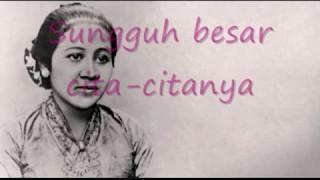 Gambar cover Lagu Wajib Nasional - Ibu Kita Kartini With Lirik