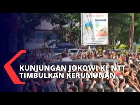 Polemik Kerumunan Kunjungan Presiden Jokowi ke Maumere