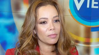 'The View' Co-Host Sunny Hostin Claims She's a Victim of Racist Taunts