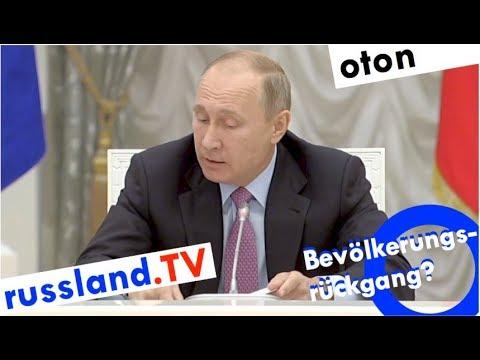 Putin zu Russlands Demografie auf deutsch [Video]