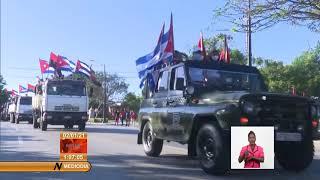 Cuba rememora inicio de la Caravana de la Victoria por Santiago de Cuba