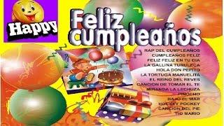FELIZ CUMPLEAÑOS CD COMPLETO -  canciones infantiles