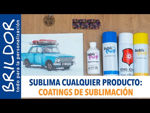 BARNIZ O COATING: HAZ SUBLIMABLE LO QUE QUIERAS