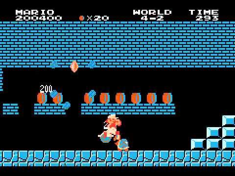 Classic Nes - Super Mario Bros  (U)(TrashMan) ROM < GBA ROMs