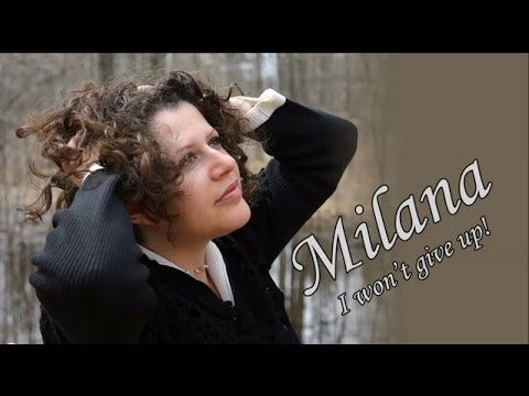 """I won't give up"" by Milana. The recording process."