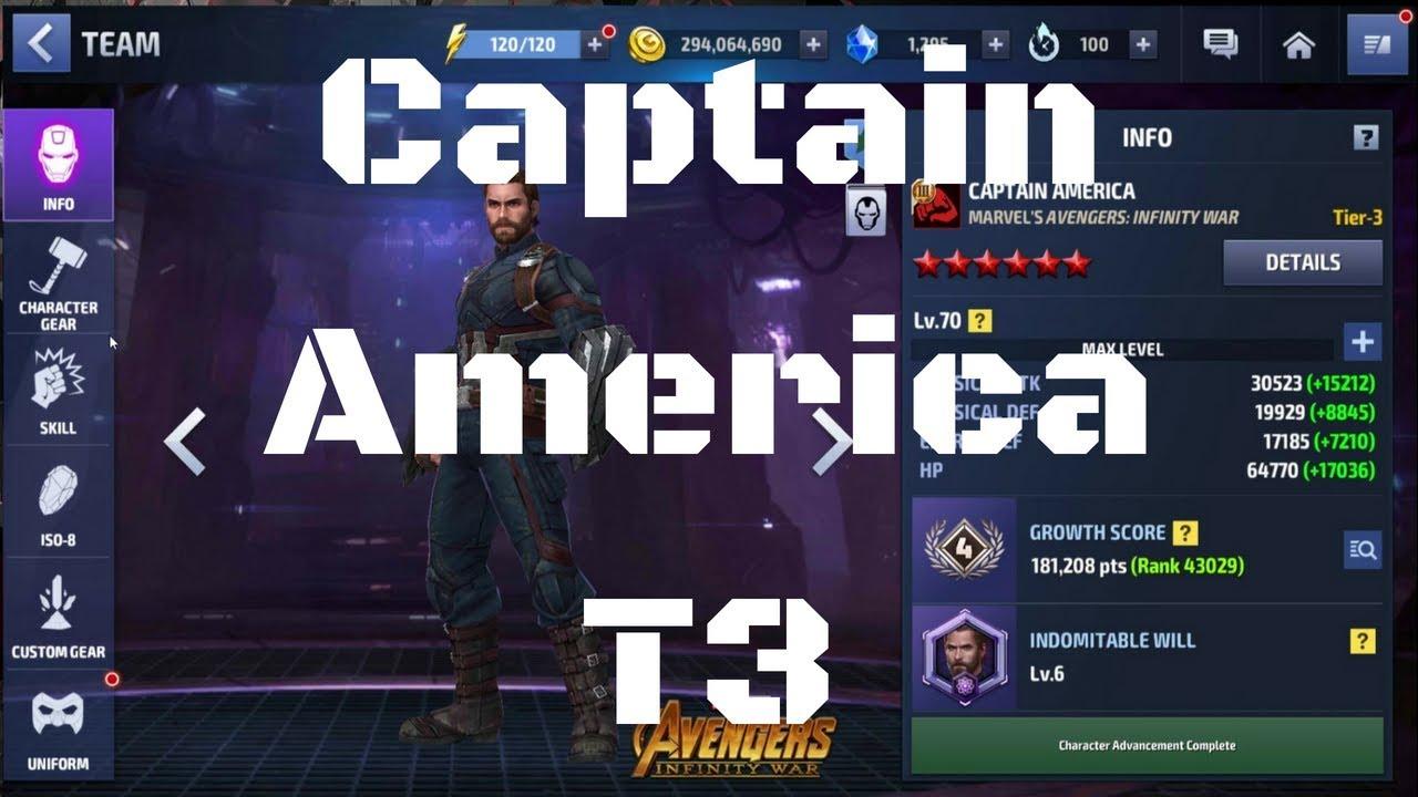 รีวิว Captain America T3