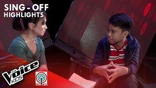 Steph Lacuata - Team Sarah Mentoring Session   The Voice Kids Philippines 2019