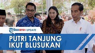 Putri Tanjung Ikut Blusukan Jokowi: Pas Lihat Senang Banget, Banyak Karya Ibu-ibu yang Luar Biasa