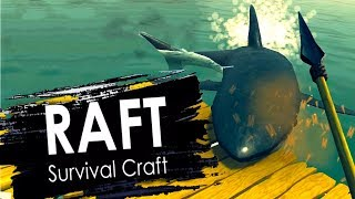 RAFT — Survival Craft Android Gameplay (Alpha Version)