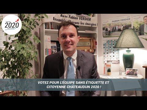 Votez pour l'équipe sans étiquette et citoyenne Châteaudun 2020 !