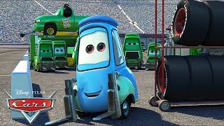 Every Guido Pitstop! | Pixar Cars