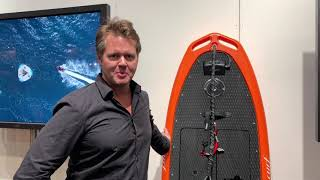 CURF Wake electric surfboard with over 25 horsepower