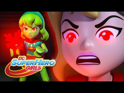 LEGO Brain Drain | Supergirl Gets Angry! | DC Super Hero Girls
