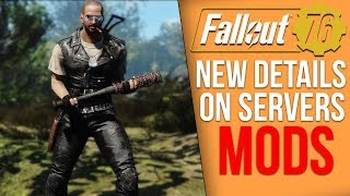 Fallout 76 New Details - Private Servers and Mods