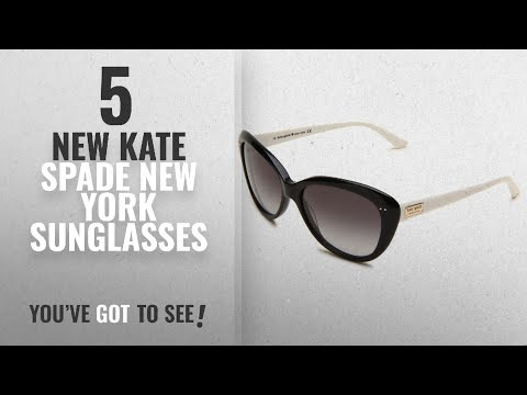 Top 10 Kate Spade New York Sunglasses [ Winter 2018 ]: Kate Spade Women's ANGELIQS Cat Eye