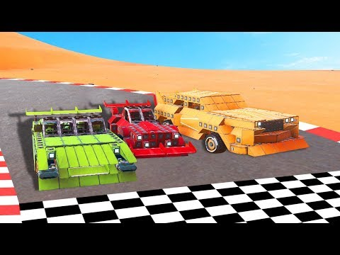 BUILD A RACE CAR WITHIN 5 MINUTES CHALLENGE! (Trailmakers)