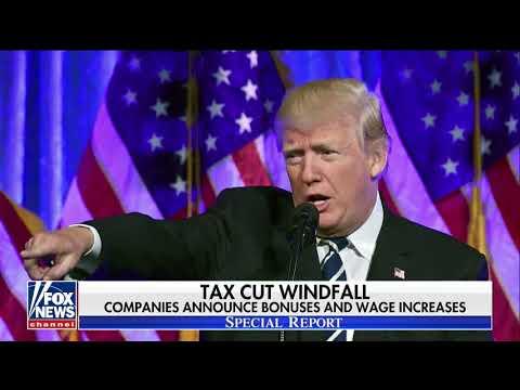 Tax reform gives President Trump plenty to celebrate