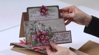 Flip Fold Album - Video 3:  Flip Fold Album and Inserts   Deco Dies and Cards