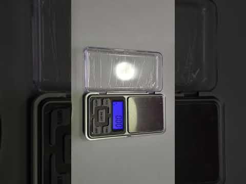 Ajuste de peso (calibracion) gramera, Pocket scale, serie MH