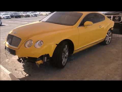 ABANDONED Ferrari, Bentley (Rich People`s Toys) Accident SuperCars - Dubai - Part 1