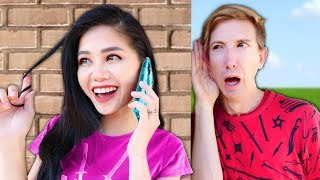 Is VY an UNDERCOVER HACKER? Spending 24 hours Exploring Abandoned Chinatown w/ Best Friend Challenge