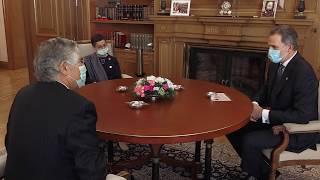 Presentación de cartas credenciales, embajador de la República Portuguesa