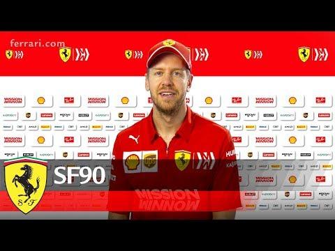 SF90 - Sebastian Vettel