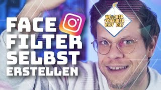 👽Instagram Face Filter selber machen - Spark AR Tutorial | #FragDenDan