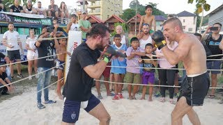 🇬🇧 Boxer vs France 🇫🇷 Muay Thai !!!!
