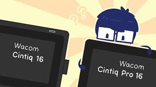 Wacom Cintiq Pro 16 vs Cintiq 16 - Should you pay the extra $1000?